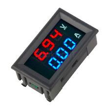 DC 100V 10A Blue+Red Amp LED Dual Ammeter Voltmeter Digital LED Voltage Meter F