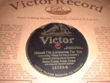 78RPM Victor 18380 Helen Louise - Frank Ferera, Hawaii I'm Lonesome, Aloha La V+