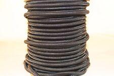 9 mm Expanderseil Schwarz  Gummiseil Seil Polyethylen-Monofil-Umflechtung