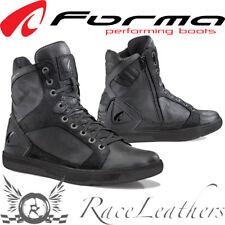 forma Hyper Impermeable Negro Corto Encaje Cremallera Motos URBANO BOTAS DE MOTO