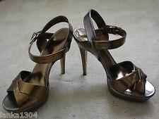 "Dorothy Peltre plataforma 5-5,5 ""alto talón sandalias Zapatos (Nuevo) UK Size 6 £ 40.00"