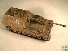 SHQ GV089 1/76 Diecast WWII German Elefant, Pz Jag Tiger Heavy SP Gun w/hull mg