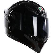 AGV K1 Full Face Motorcycle Motorbike Helmet - Gloss Black