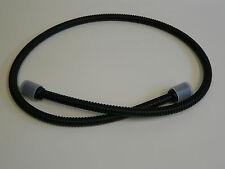 Manguera de Ducha Metal negro mate, flexible metálico, mano