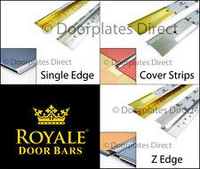 Full Range - Germany Quality Carpet Door Bars - Metal Threshold - Strips Profile