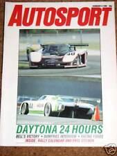 Autosport 6/2/86* 1985 FORMULA FORD & SPORTS 2000 REVIEW - DAYTONA 24 HRS