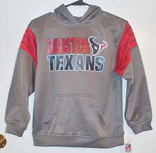 NFL Team Apparel Boys Houston Texans Football Pullover Hoodies Various Sizes NWT