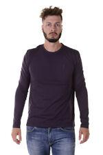 T-shirt Versace Collection T-Shirt Sweatshirt % Uomo Viola V800491VJ00180-V1321