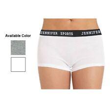 New Ladies Jennifer Sports Yoga Shorts Pants  - Grey or White Sizes 6,8,10,12,14