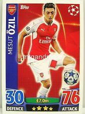Match Attax 2015/16 Champions League - Arsenal London - Karte aussuchen