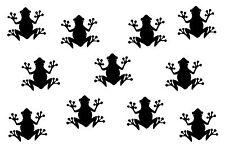 11 grenouilles Frosch autocollant auto sticker mural hotte vitre arrière fenêtre