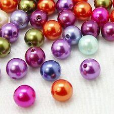 5pcs 30MM Chunky Bubblegum Acrylic Pearl Round Bead DIY Jewelry Bracelet Finding