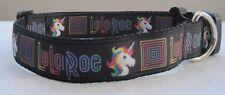 Unicorn per collare cani o piombo Toelettatura Carino Cucciolo pony arcobaleno stelle fatte a mano