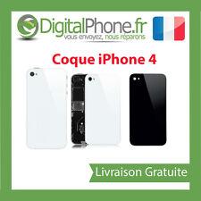 FACADE VITRE COQUE ARRIERE DE REMPLACEMENT IPHONE 4 COULEUR NOIR/BLANC