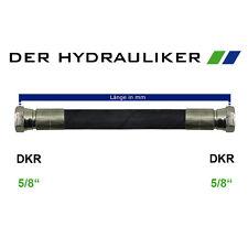 """Hydraulikschlauch 2SC G5/8""""(NW16) mit AGR/DKR/DKR45/DKR90, Zöllig 250 bar, SW30"""