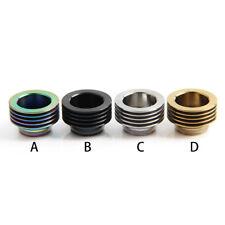 Drip Tip Adapter Heat Sink 810 Verdampfer Edelstahl Driptip 4 Farben D256 -2