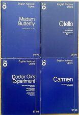 Individual English National Opera (ENO) programmes 1995-1999, programme