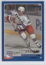 2003-04 O-Pee-Chee Blue #269 Tom Poti New York Rangers Hockey Card