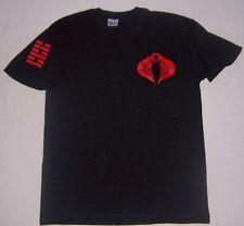 Storm Shadow black t shirt GI G.I.Joe Cobra  Retaliation rise movie tee t-shirt