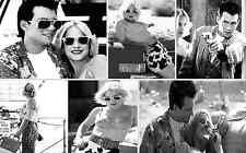 Grandi regali! vero ROMANTICA TELA collage #1 Film iconico A1 A3 tela foto