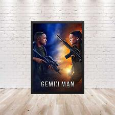 Gemini Man Movie Poster Wall Art Maxi 2019 Prints New Film Cinema -1735