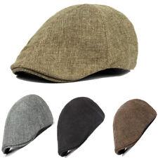 Unisex Casual Mens Women Duckbill Cap Golf Driving Flat Cabbie Newsboy Beret Hat