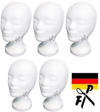 5 x FP Styroporkopf Perückenkopf  - TOP Markenqualität aus Deutschland