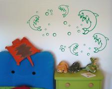 Delfin Creativ-Set Wandtattoo  25 Farben 5 Größen