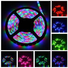 5M 300LEDs SMD 3528 IP65 Waterproof RGB Colorful Flexible LED Strip Light DC 12V