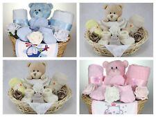 HANDMADE NEWBORN BABY BOY GIRL UNISEX HAMPER GIFT BASKET NAPPY CAKE BABY SHOWER