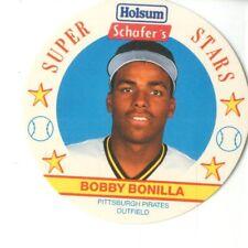 1989 (PIRATES) MSA Holsum/Schafer's Discs #15 Bobby Bonilla
