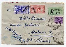 1953 REPUBBLICA DA VINCI 80L+LAVORO 20L+SIRACUSANA 25L SU RACC DA BOLZANO A/7989