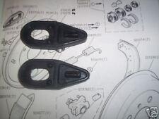 (x2) Hillman Imp bota cubiertas de polvo Cilindro de rueda Polainas (1963 - 76)