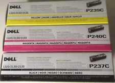 Dell Cartouche De Toner noir P237C magenta P240C Jaune P239C origine