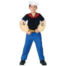 Popeye Costume Kids Sailor Halloween Fancy Dress
