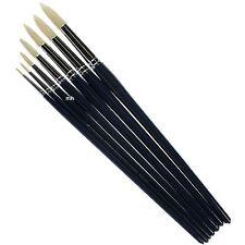 Pro Arte Series C Round Brushes Oil Acrylic paint Hogs hair Brush single artists