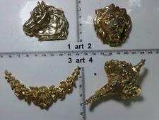 spilla metallo o strass smalto perle balia italy artigianale vintage brooch ce