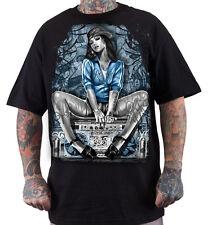 Dyse One Soul Mens Black T-Shirt Urban Streetwear Tattoo Graffiti Art