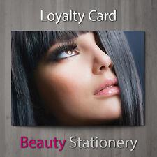 Tarjeta de lealtad de peluquería Spa salón de belleza de maquillaje terapeuta A8 Mini