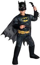 Batman Classic DC Superhero Dark Knight Fancy Dress Up Halloween Child Costume