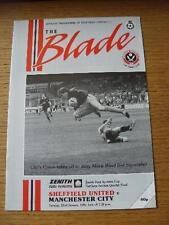 22/01/1991 Sheffield United v Manchester City [Zenith Data Systems Taza] (equipo Ch