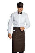 GREMBIULE VITA CHEF CUOCO PASTICCERE DAKAR CACAO cm 100X70 ISACCO APRON 厨师的围裙