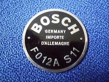 schild Bosch Typenschild Hupe Oldtimer FO12 A S 11 12