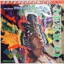 MEXICO Musica Prehispanica Y Mestiza De Mex Press Lp
