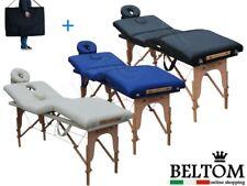 Camilla de masaje 4 zonas plegable mesa Cama banco portatil Belleza MASAJISTA
