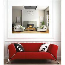 Affiche poster salon cheminée 2977096