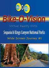 Bike-O-Vision Cycling Video, Sequoia & Kings Canyon Natl Parks, Widescreen DVD