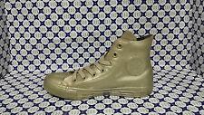 Scarpa Converse All Star Hi Metallic Rubber Gomma 553269C Oro Gold