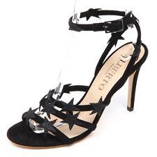 D5712 sandalo donna nero ALBERTO GOZZI scarpe star shoe woman