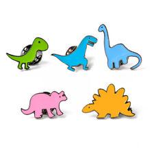 Children Cute Cartoon Dinosaur Oil Drip Brooch Kids Boys Girls Fashion Brooch